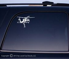 Seahawk helicopter rescue vinyl decal,Sikorsky SH-60/MH-60,model,navy swimmer,sm