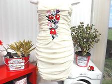 """""""paprika"""" ladies lemon body con size 14 dress b.n.w.t."""