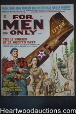 For Men Only Jun 1960 Mort Kunstler Cvr, Gil Cohen, Rudy Nappi, Copeland - High