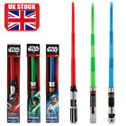 Star Wars Weapon Telescopic Lightsaber Sword Light Sound Cosplay Toy Kids Gift