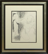 """Pablo Picasso Spanish (1881-1973) Limited Edition Color Lithograph """"The Artist a"""