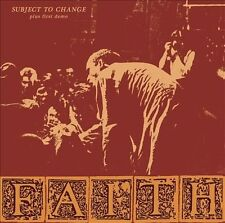 Faith - Subject To Change Plus First Demo LP Record - BRAND NEW + Download