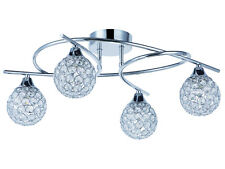 TP24 Piccadilly Osterley 4x3W chrome LED ronde lumière plafond