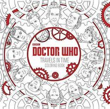 Doctor Who Travels in Time Coloring Book by Price Stern Sloan (2016, Paperback)
