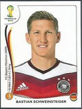 PANINI WORLD CUP 2014- #497-DEUTSCHLAND-GERMANY-BASTIAN SCHWEINSTEIGER