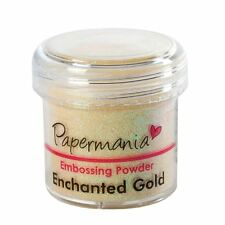 Papermania Embossing Powder - ENCHANTED GOLD NEW/SEALED