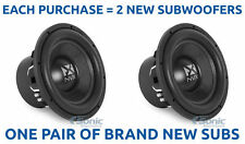 "2) NVX Audio VCW122 12"" Dual 2 ohm VC Series Car Subwoofers/Subs (4000W Pair)"