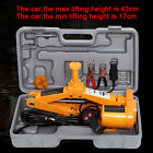 2 Ton 12V Car SUV Electric Jack Wrench Combination Set Auto Emergency Tools+Case