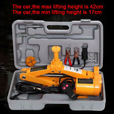 2 Ton 12V Car SUV Electric Jack Combination Set Auto Emergency Tools+Case