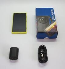 Nokia Lumia 1020 - 32GB - Yellow (Unlocked) Smartphone *Good Phone w/ Accy!