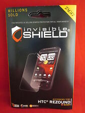 Zagg Invisible Shield for HTC Rezound