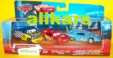 3 pack - Race Damaged King + Dexter Hoover + McQueen - Disney Cars modellini 3pk