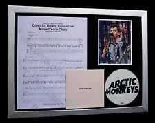 ARCTIC MONKEYS Don't Sit Down LTD TOP QUALITY CD FRAMED DISPLAY+FAST GLOBAL SHIP