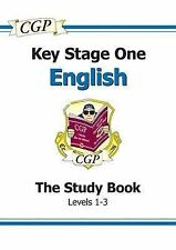 KS1 English SATs Study Book - Levels 1-3 by CGP Books (Paperback, 2000)
