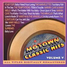 Motown Classic Hits Vol.5 MARVIN GAYE MARY WELLS CONTOURS SUPREMES MARVELETTES