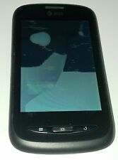 AT&T Avail ZTE Z990 Black AT&T Smartphone Bad LCD Liquid Marker Red