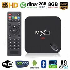MX3 Ultra HD 4K Smart TV Box Android 4.4 S812 Quad Core 2G+8G WiFi BT 4.0 Kodi
