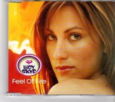 (FM541) Lucy Skye, Feel Of Fire - 2000 DJ CD