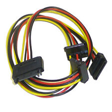 SATA 3 Way Power Splitter Cable Lead - Turn 1 SATA Power Connector into 3