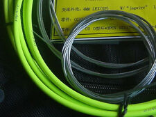 JAGWIRE SHIFTER GEAR DERAILLEUR HOSE HOUSING CABLE KIT MTB ROAD SHIMANO GREEN