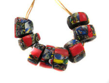 Fine old Venetian Antique Crumb Millefiori African Glass Trade beads