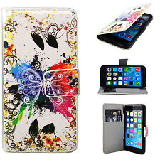 """Wallet Card Slot Leather Soft Full Cover Case Stand For Apple iPhone 6 4.7"""""""