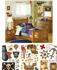 Borders Unlimited Pirate's Treasure Wall Sticker Peel and Stick Decal Kit