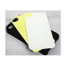 10 Hard Black Blank iPhone 4 Case/ Cover in Black for Heat Sublimation Printing