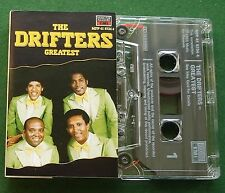 The Drifters Greatest inc Like Sister & Brother + Cassette Tape - TESTED