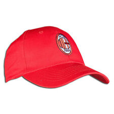 Licensed AC Milan 2012-2013 Adjustable Hat Cap Soccer Brand New Red