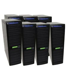 70 SATA Burner Blu-ray CD DVD Disc Daisy Chain Duplicator Multiple Tower Burner