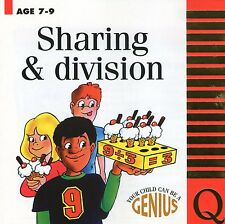 SHARING AND DIVISION AGE 7- 9 WINDOWS 95, 98, ME, 2000  XP