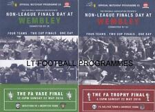 2016 FA VASE (HEREFORD v MORPETH) & FA TROPHY FINAL (FC HALIFAX v GRIMSBY TOWN)