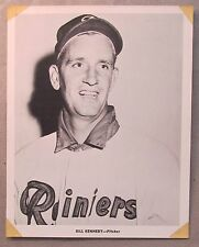 1956 BILL KENNEDY Seattle Rainiers Popcorn Card premium 8x10 PCL