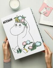 Official MOOMINS Large Floral A4 Size Storage Box Moomin Snork Maiden Gift New