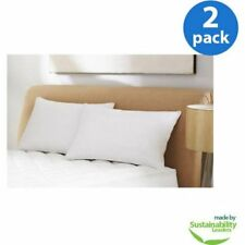 """Microfiber Bed Pillows Hypoallergenic Standard 20"""" x 26"""" Home Bedding Set of 2"""