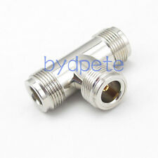 T type 3 three N female jack RF Connector Adapter