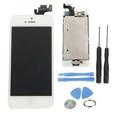 White LCD Touch Screen Digitizer Assembly Replacement for iPhone 5 w/Frame Tool