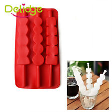 Silicone/Rubber Ice Cube Tray Mold For Bar Chocolate Soap Mould Jello Candy