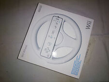 Wii Wheel (Volante) White Brand New and Factory Sealed