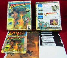 Pc dos: Indiana Jones and the Fate of Atlantis-LucasArts 1992-allemand