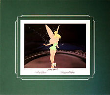 Disney Autographed Tinker Bell Print Signed By Marc Davis & Margaret Kerry