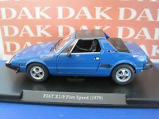 Die cast 1/24 Fiat X 1/9 1979