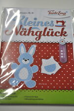 TANTE EMA CUTTING PATTERNS SMALL NÄHGLÜCK CHILDREN RABBIT NEGIN STUFFED ANIMAL