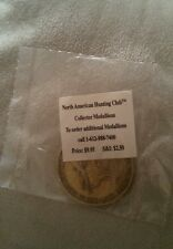 WHITETAIL DEER NORTH AMERICAN HUNTING CLUB BIG GAME COLLECTORS MEDALLION TOKEN