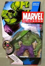 """Marvel Universe INCREDIBLE GREEN HULK #013 3.75"""" Scale Action Figure 2008"""