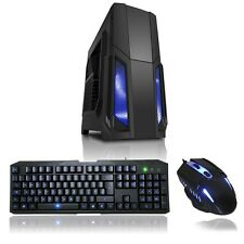 Fast Gaming Computer PC Intel i5 Quad Core 3.20GHz 8GB Ram 1TB HDD Windows 10