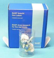 BASF forscht BOX MiB Schlumpf Dr. Dinch Fähnchen dunkelgrün promo pub Werbung