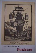 reproduction gravure LES METIERS (Larmessin) : HABIT DE VINAIGRIE