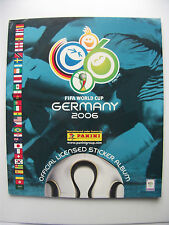 FIFA World Cup Germany 2006 Panini Official Licensed Sticker Album Reprint
